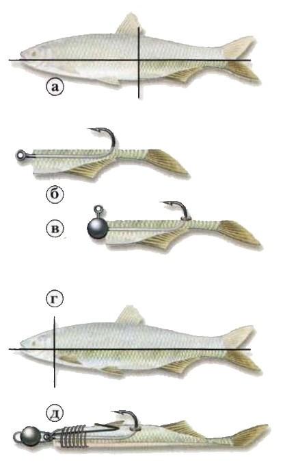 нарезка для рыбалки